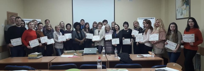TESOL-UKRAINE TEACHER DEVELOPMENT SPRING INSTITUTE IN LVIV