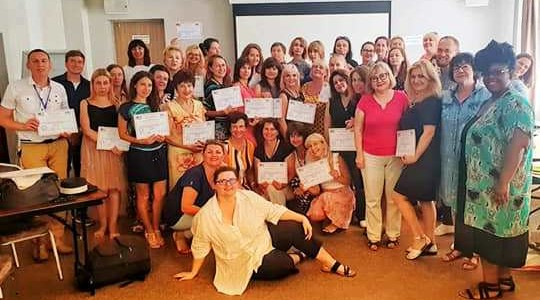 TESOL-UKRAINE TEACHER DEVELOPMENT SUMMER INSTITUTE IN ODESA